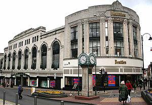 Beatties - The first Beatties store in Wolverhampton.