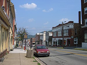 Bedford, Pennsylvania - East Pitt Street in Bedford