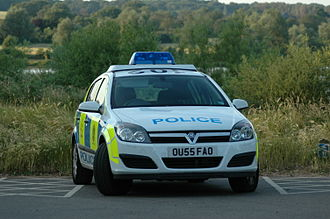 Bedfordshire Police - Image: Bedfordshire Police car