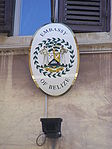 Belizean Embassy to the Republic of Italy - plaque.jpg
