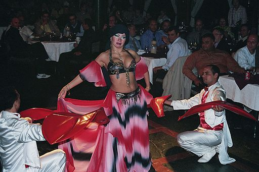 Bellydancer Asmahan Cairo 2005 2