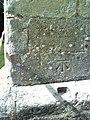 Benchmark on buttress of All Saints Church - geograph.org.uk - 2052212.jpg