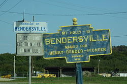 Official logo of Bendersville, Pennsylvania