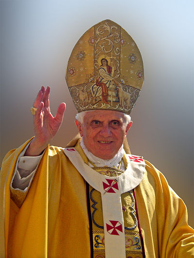 Pope Benedict XVI, 265th pope of the Catholic Church
