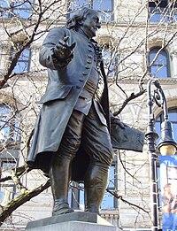Benjamin Franklin statue by Ernst Plassman (1872).jpg