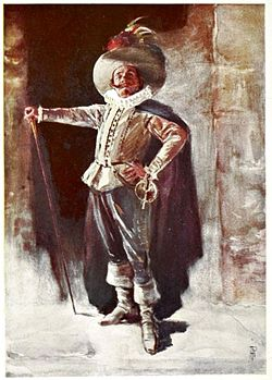 Benoît-Constant Coquelin dressed as Cyrano de Bergerac