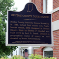 Benton County Courthouse marker.png