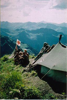 Bergwacht Zeltposten