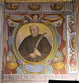 Bernardino Poccetti e aiuti, affreschi della sagrestia di san bartolomeo di ripoli, 1585, fregio 14 beato tesauro.JPG