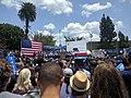 Bernie Sanders, Lincoln Park, east Los Angeles, California, USA.jpg