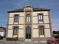 Bertheauville (Seine-Mar.) mairie-écoles.jpg