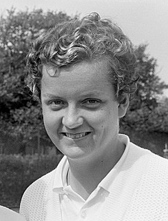 Betty Stöve Dutch tennis player