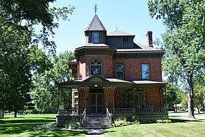 National Register of Historic Places listings in Oconto County, Wisconsin - Image: Beyer Home Museum, Oconto, WI