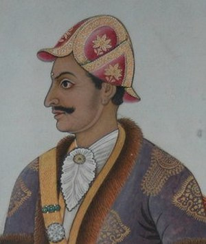 Kingdom of Nepal - PM Bhimsen Thapa, founder of Khas Thapa dynasty