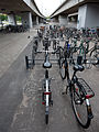 Bicycles at Ryparken Station in Copenhagen.jpg
