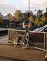 Bike at Newton Abbot station - geograph.org.uk - 1038913.jpg