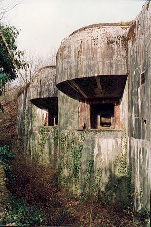 Fortified Sector of Thionville - Ouvrage Billig, Block 5 casemates