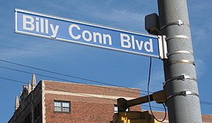 Billy Conn - Billy Conn Boulevard in Pittsburgh, PA
