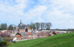 Binche, the old city and its surrounding wall