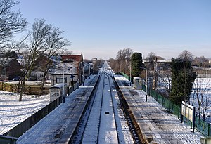 Bingham, Nottinghamshire - Railway station