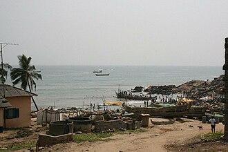 Biriwa - Biriwa skyline and Fishing Area