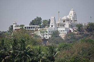 Hussain Sagar - Birla Mandir in Hyderabad