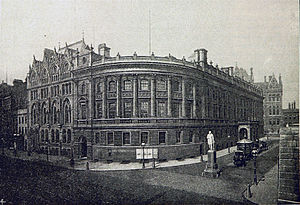 Albert Ketèlbey - The Birmingham and Midland Institute (since demolished) in Paradise Street, Birmingham