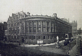 Paradise, Birmingham - Birmingham and Midland Institute building on the corner of Ratcliff Place and Paradise Street
