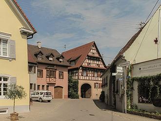 Vogtsburg - Image: Bischoffingen, straatzicht foto 4 2013 07 24 15.43