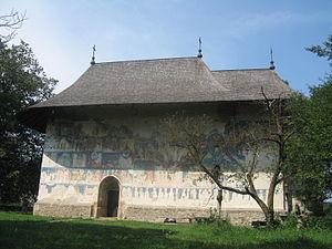 Churches of Moldavia - Image: Biserica Arbore 13