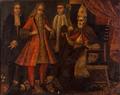 Bispo com Prelado e cortesãos - Escola Portuguesa, séc. XVIII.png