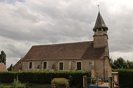 The church of Sainte-Croix at Bissières