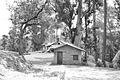 Black and White photo of a Village Hut near Ranikhet, Almora, Uttarakhand in India.jpg