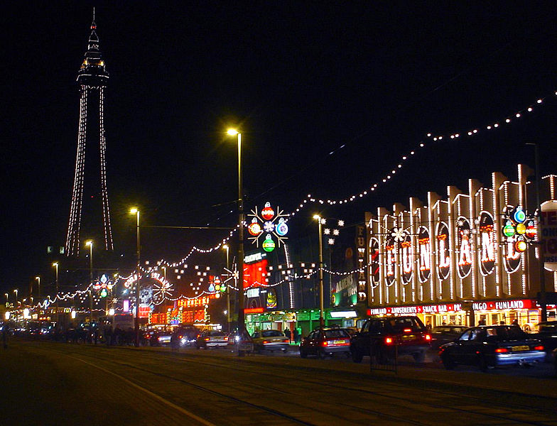 File:Blackpool tower and illuminations.jpg