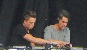 Blasterjaxx - Blasterjaxx (Idir Makhlaf right and Thom Jongkind left) live at Spring Awakening 2014