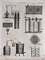 Bleaching; vats and cauldrons for bleaching cloth. Engraving Wellcome V0024197EL.jpg