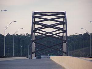 Blennerhassett Island Bridge - Image: Blennerhassett Bridge 002