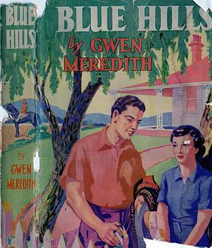 Blue Hills (radio serial) - Book cover, First edition 1950