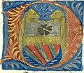 BnF Lat 4915 Mare historiarum 196 Lettre aux armes et oursons.jpg