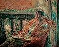 Boccioni - Portrait of Mrs. Meta Quarck, 1910.jpg