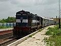 Bodhan-MBNR Passenger with WDM3A loco.jpg