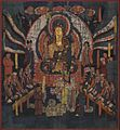 Bodhisattva Ksitigarbha and Ten Kings of Hell. 10 century. British Museum, London.jpg