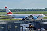 Boeing 777-2Q8ER, OE-LPE, Austrian Airlines (18222709313).jpg