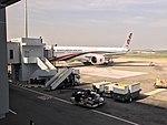 Boeing 777 Bangladesh Airlines in CGP Airport.jpg