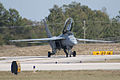 Boeing FA-18F Super Hornet Taxi Out 03 TICO 13March2010 (14598781502).jpg