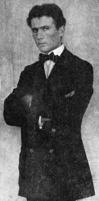Bohumil Kubišta - Kubišta in 1911.