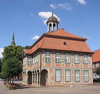 Boizenburg Place in Mecklenburg-Vorpommern, Germany