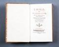 """Boken """"Emile"""" av Rousseau - Skoklosters slott - 86175.tif"""