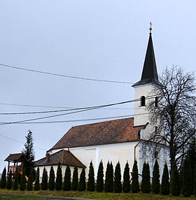 L'église catholique Szent Anna (Sainte-Anne)