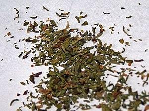Satureja - Dried summer savory leaves